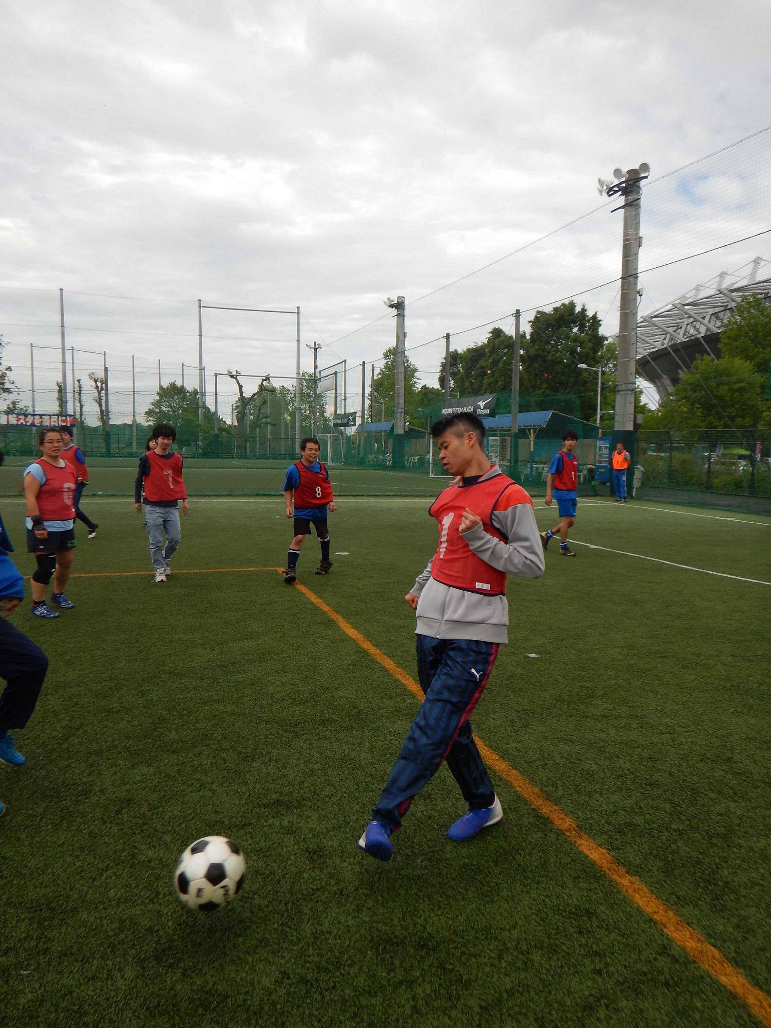 DSCN4795 R - 「みんなで☆サッカー」を終了しました。